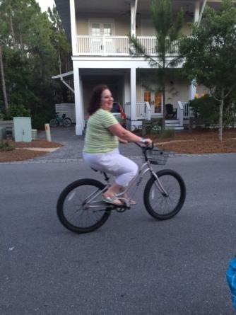 me on bike